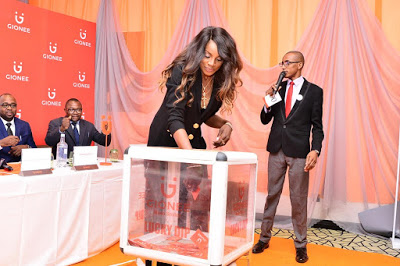 Seyi Shay unveiled as Gionee brand ambassador for Nigeria