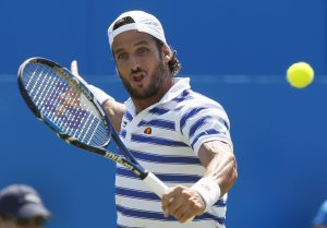 Feliciano Lopez Saves Match Point, Beats Marin Cilic 4-6, 7-6 (2), 7-6 (8)  In Queen's Final
