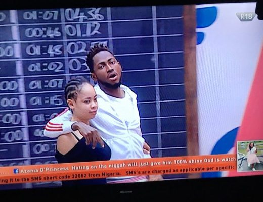 #BBNaija Don't call me boo at night and friend in the day-Miracle tells Nina
