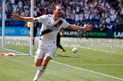Zlatan Ibrahimovic Scores 35-Yard Screamer on MLS Debut
