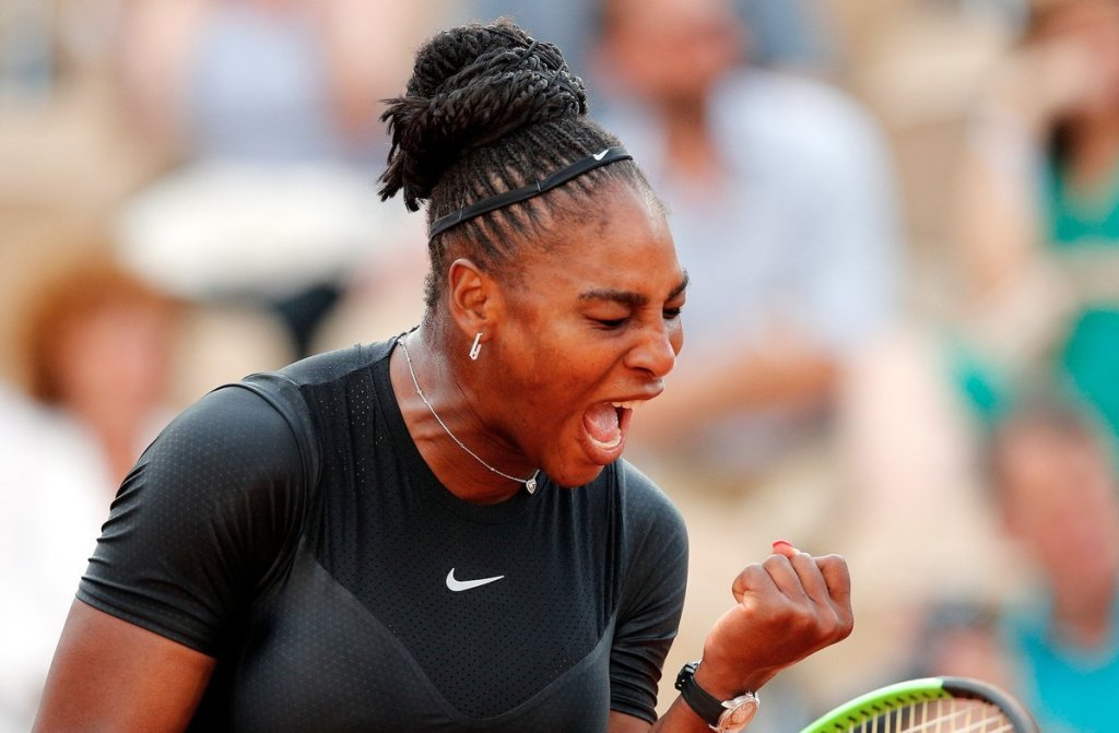 Serena Williams on cruise control, beats Goerges , 6-3, 6-4; Sharapova next