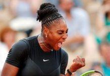 Serena Williams on cruise control, beats Goerges , 6-3, 6-4; Sharapova next