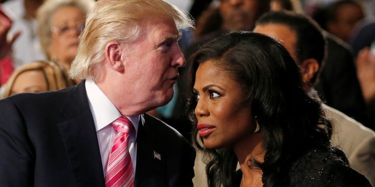 President Trump calls former aide Omarosa a 'dog' and crying lowlife