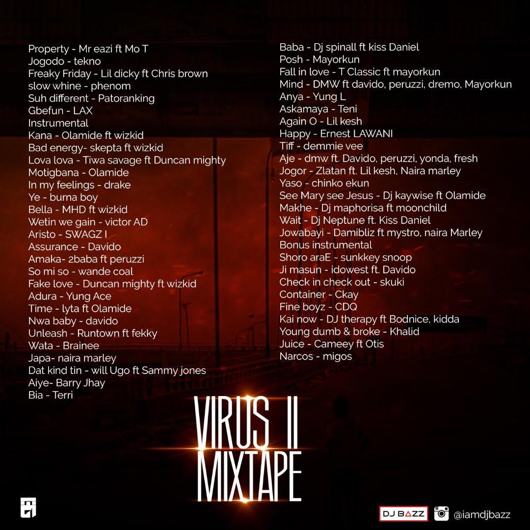 DJ Bazz - Virus Mixtape II