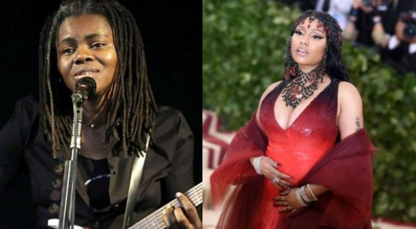 Tracy Chapman sues Nicki Minaj for 'stealing' 'Baby Can I Hold You' song