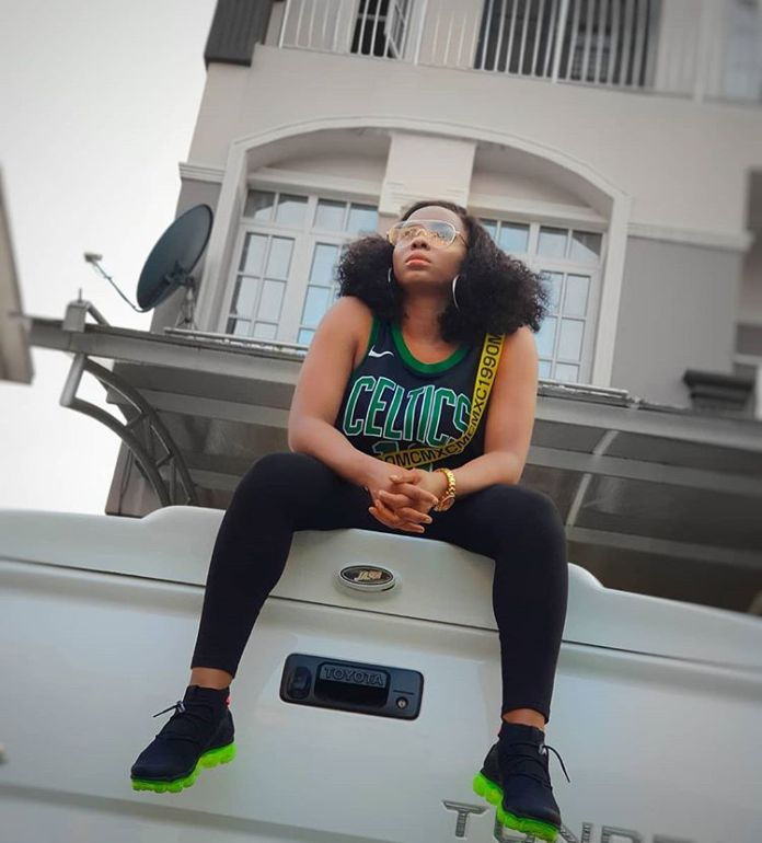 Singer Yemi Alade Takes Delivery Of Her Brand New Toyota Truck