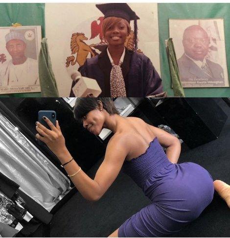 Nigerian Instagram dancer,Jane Mena Share 10 Years Throwback Photos