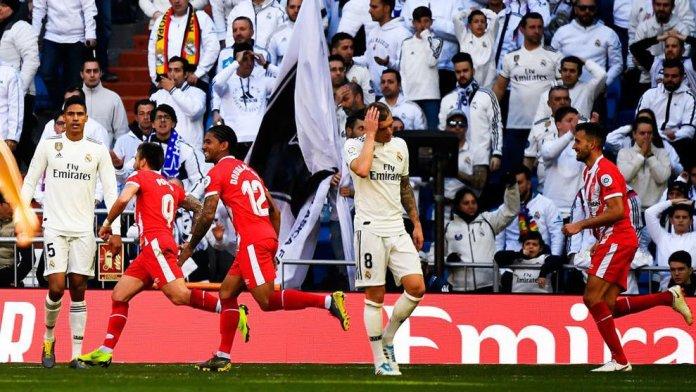 Real Madrid slump to shocking defeat against Girona