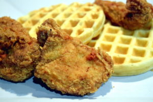 Country Fried Chicken and Everyday Waffles