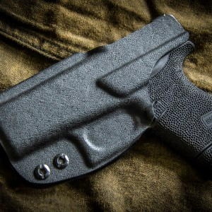 Kydex inside waist band IWB Glock 43