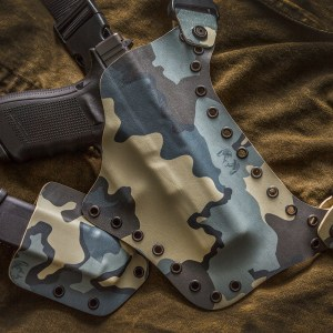 Kydex Chest Holster KUIU Glock 20 10mm