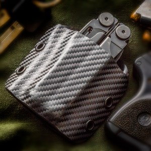 Leatherman case carbon fiber Kydex