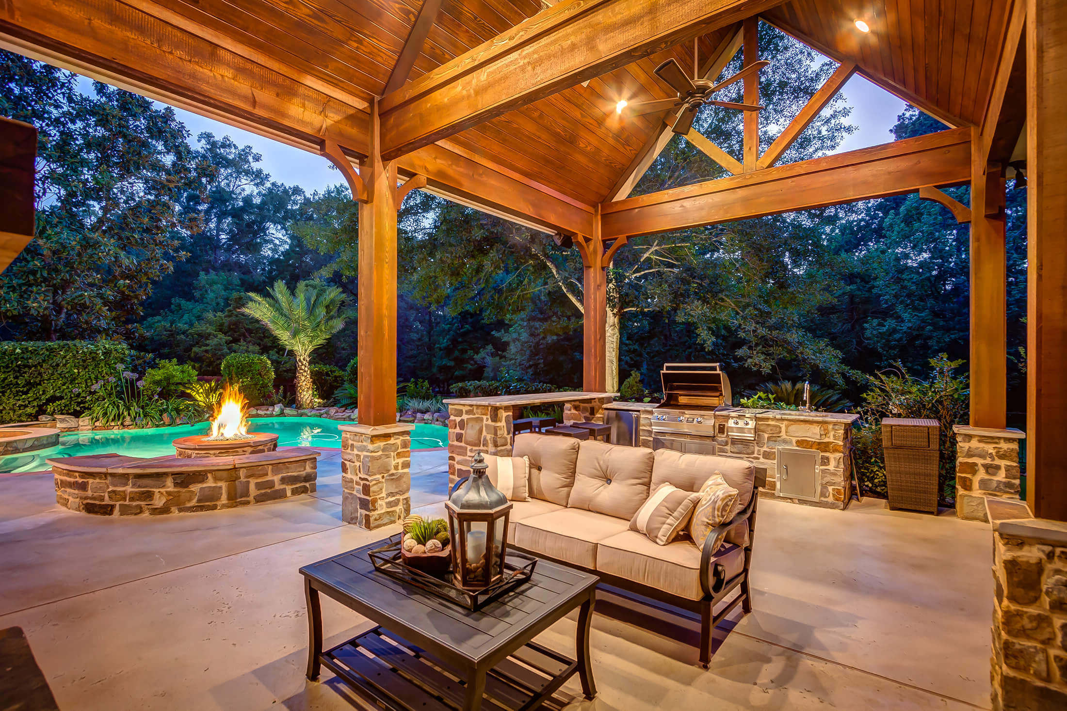 houston outdoor kitchens patio covers