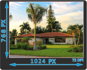how to size your pictures for a mls listing