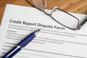 Law Office of Matthew M. Cree, LLC - Credit Report Dispute Form
