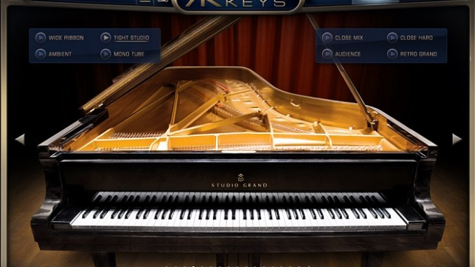 Un super vst de piano réaliste