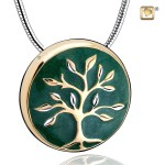 Tree Of Life Sterling Silver Necklace For Ashes