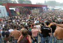 Rave party, foto d'archivio