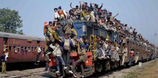 Un treno, foto simbolica