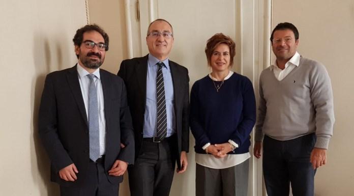 Da sinistra: Andrea Daconto (vicepresidente), Fabrizio Scuri (presidente), Bruna Gozzi (consigliere), Roberto Salvadori (direttore)
