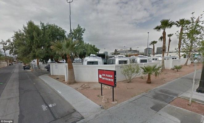 Las Vegas The trailer park