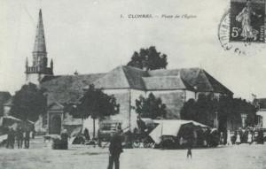 Clohars - Place de l'église