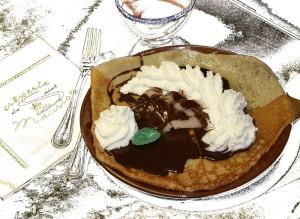 Poire chocolat Chantilly