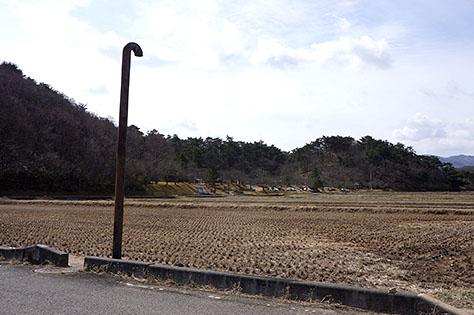 安積疏水と深田調整池(深田ダム)の取水路 空気弁