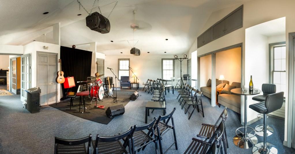 Crescendo Music Loft Concert Room