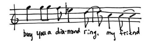 Buy you a diamond ring