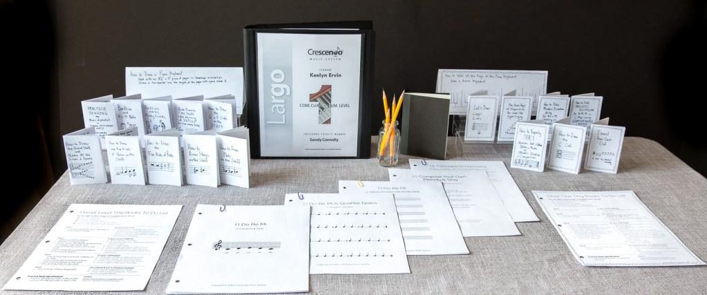 Crescendo Music System Start Binder