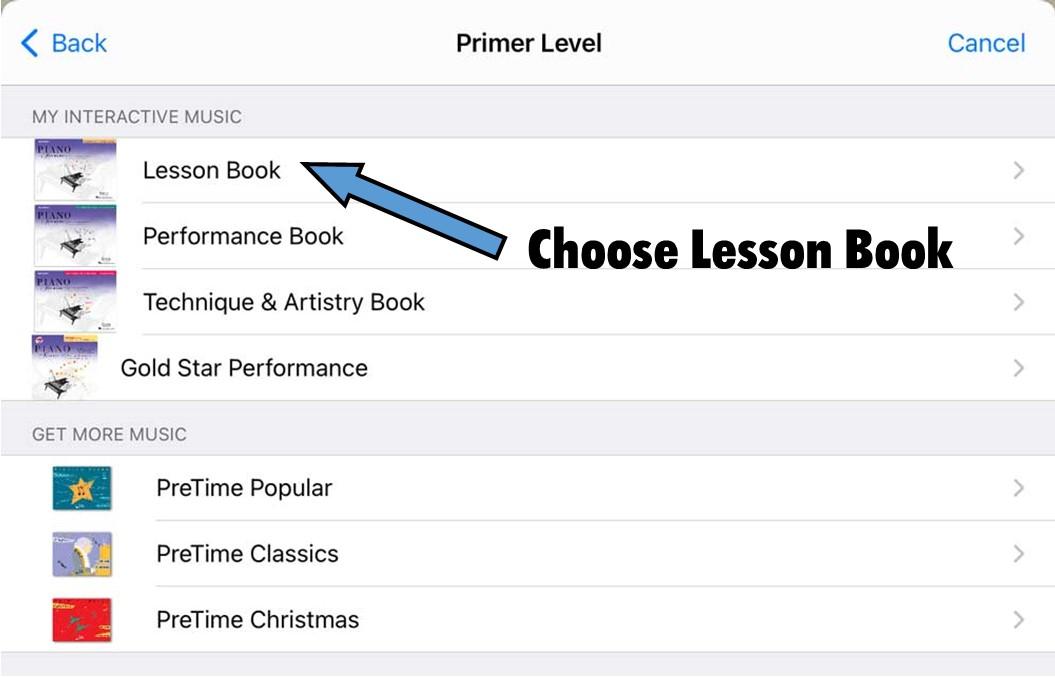 PA Player Lesson Book