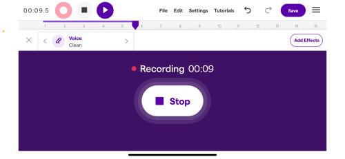 Soundtrap Recording