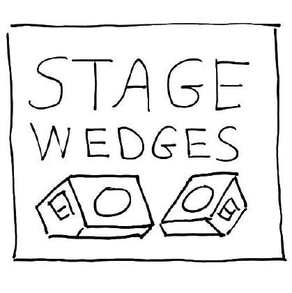 Stage Wedges
