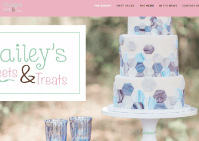 Web Design & Branding For Award- Winning Bakery