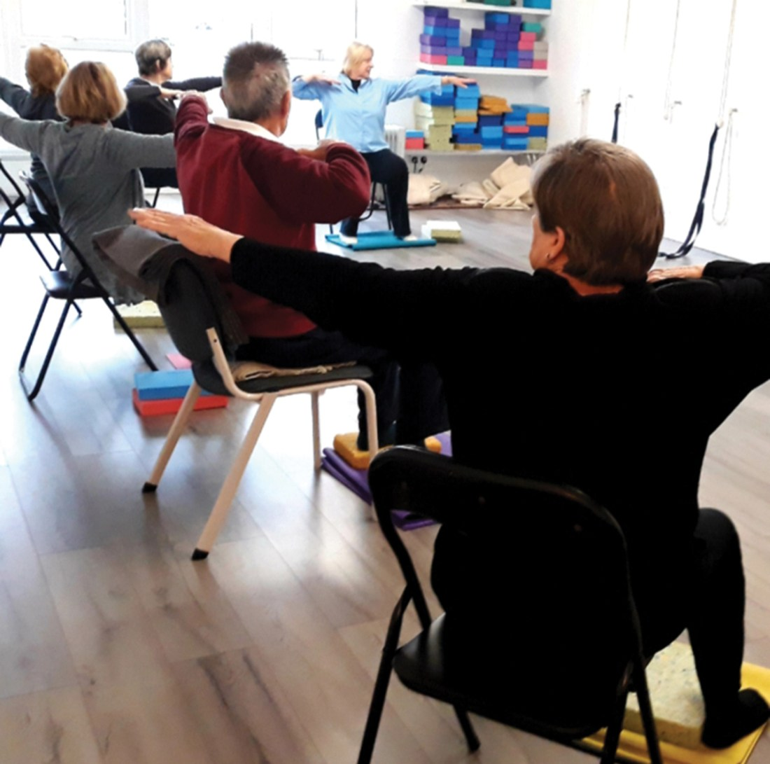 Chair Yoga at Crescent Yoga Studio Lytham St Annes