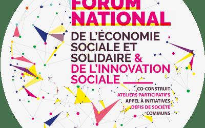 Communiqué de presse de cloture du Forum national de l'ESS et de l'innovation sociale