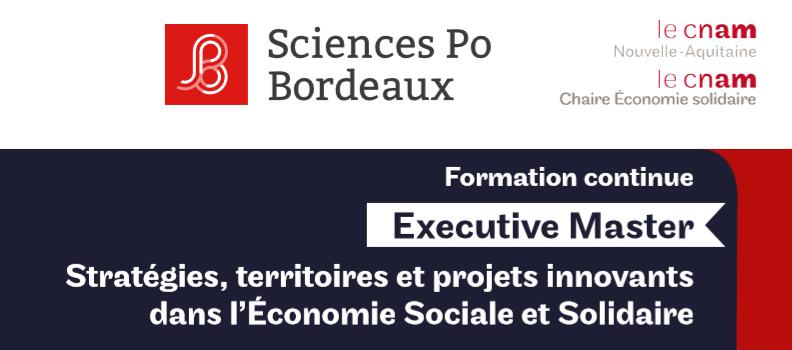 Petit déj' info formation continue : «Stratégies, territoires et projets innovants dans l'Économie Sociale et Solidaire»