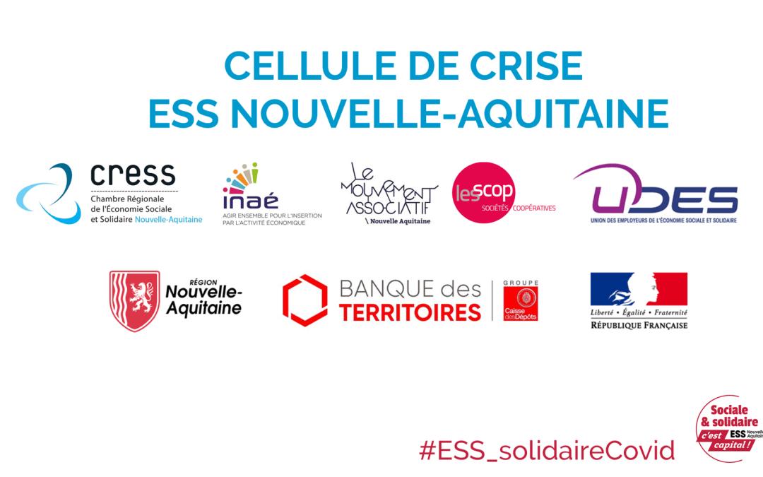 Cellule de crise ESS Nouvelle-Aquitaine