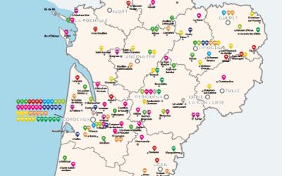 Innovation sociale : Annuaire de lauréats de l'AMI Nouvelle-Aquitaine