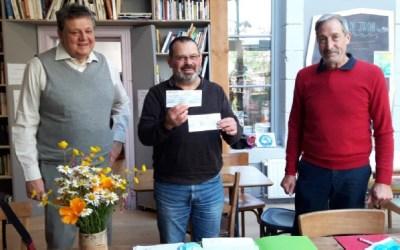 2 clubs CIGALES haut viennois investissent dans la SCOP Laine et Compagnie