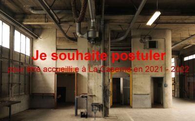 Appel à candidature pour La Caserne à Poitiers
