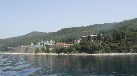 Athos monastery of St. Panteleimon