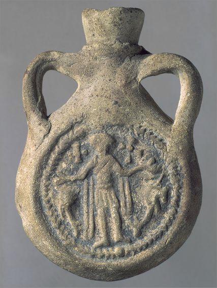 ticluta teracota – Egipt (sec VI – d. Hr..) (Städtiche Galerie Liebighaus, Frankfurt.)