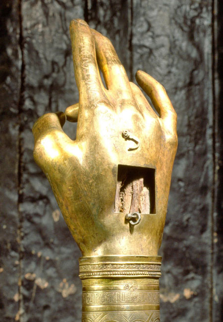 The hand of St John the Baptist - Topkapi Museum