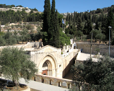 Virgin Tomb in Jerusalem