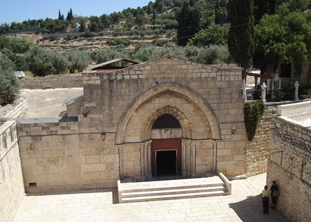 Mormantul Maicii Domnului din Ierusalim