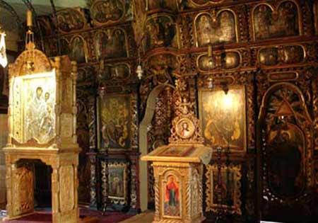 Manastirea Rarau - Icoana Maicii Domnului