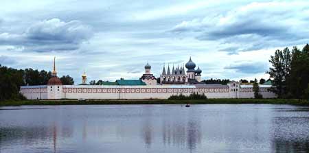 Icoana Maicii Domnului - Manastirea Tikhvin