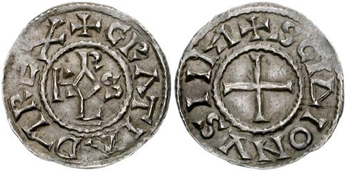 Simbolul crucii pe monede